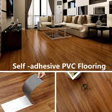 vinyl flooring tiles avoid glue pvc self adhesive floor home decor