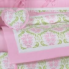Duvet Baby 21 Best Pink N Green Crib Bedding Images On Pinterest Babies