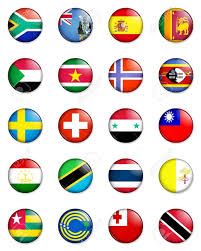 Flags Of Nations A Selection Of The Flags Of The Nations Of The World Done In