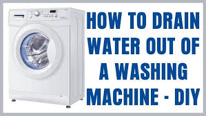 How To Clean A Whirlpool Dishwasher Drain How To Drain The Water Out Of A Washing Machine Top Load U0026 Front