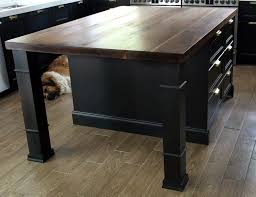 Kitchen Island With Legs Customizing Our Ikea Kitchen Island Chris Loves Julia