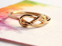 mothers infinity ring infinity knot ring 14k gold filled ring gold filled ring