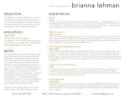 Resume Checklist Resume Brianna Lehman Flickr
