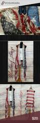 American Flag Price New Arrival Distressed American Flag Duster Price Is Firm