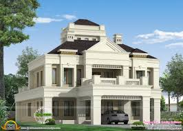 colonial style home exterior kerala home design and floor plans