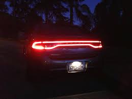 2013 dodge dart tail lights tail lights on trunk
