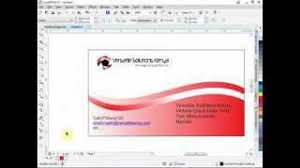 Design A Business Card Free Business Card Design In Coreldraw Free Download Video Mp4 M4a