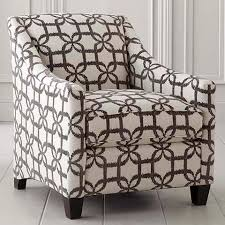 Gray And White Accent Chair Upholstered Grey And White Accent Chair
