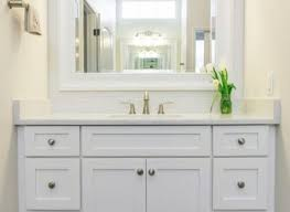 bathroom remodel in richardson tx custom shaker style vanity