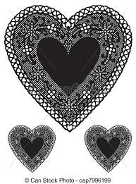 heart shaped doilies antique black lace heart doilies vintage heart shaped black