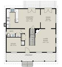 Country Kitchen Floor Plans by Country Style House Plan 3 Beds 2 50 Baths 1908 Sq Ft Plan 427 1