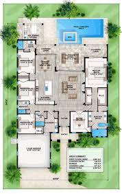 apartments mediterranean garage plans best one level house plans