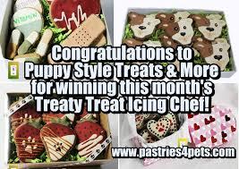 cing gift basket treaty treat dog icing home