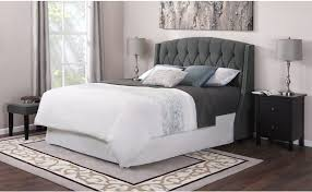 Grey Tufted Headboard Bed Woven Headboard Grey Leather Tufted Headboard Wicker