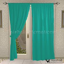 Cotton Tie Top Curtains by 2 Pcs Cotton Tie Top Pink Long Door Living Room Curtain Panels