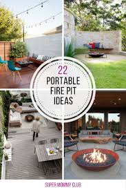 Firepit Safety 22 Amazing Portable Pit Ideas For Summer Evenings