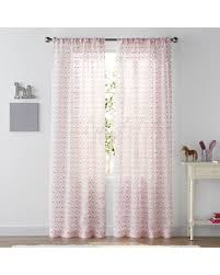 Pink Trellis Curtains Winter Shopping Special Sonoma Goods For Life Sheer Trellis 2