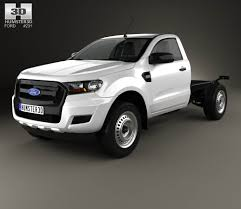 ford ranger 2015 ford ranger super cab chassis xl 2015 3d model hum3d