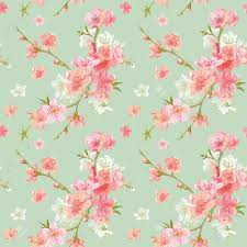 shabby chic flowers inspiring blossom flowers background seamless floral shab