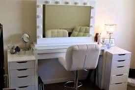 white makeup desk ikea decorative desk decoration