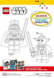 lego star wars colouring sheet dk explore