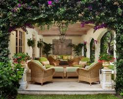 Tropical Patio Design European Outdoor Beautiful Small Patio Style Garden And Patio