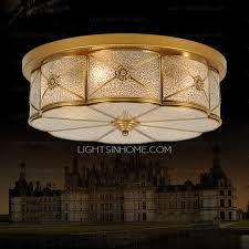 Glass Ceiling Fixture by Ceiling Lights And Glass Shade Semi Flush Living Room