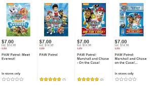 amazon black friday dvd lightning deals paw patrol dvd u0027s as little as 5 95 on both amazon u0026 target
