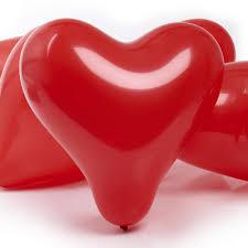 heart shaped balloons heart shaped balloons 5pk at wilko