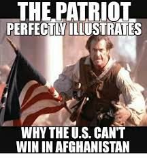 U Win Meme - the patriot perfectlyillustrates why the us cant win in