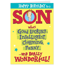 design free birthday cards to son in law also free printable