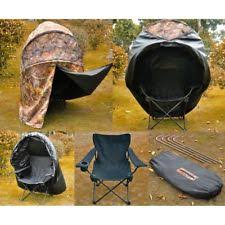 tent chair blind deer one jake turkey chair blind camo hunt tent ebay
