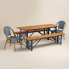 Beer Garden Tables by And Brown Peacoat Beer Garden Outdoor Dining Collection