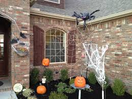 outdoor awesome halloween decoration ideas for yard as well as