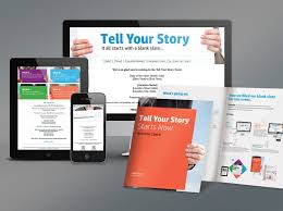 hp tell your story u2014 option c design