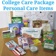 College Care Package College Care Package Personal Care Items Edition Organized 31