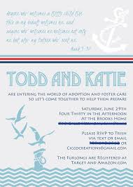 nautical adoption baby shower part one cicco creations