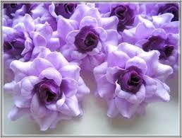 bulk silk flowers silk flower yapay buket silk flower hair clip tutorial purple