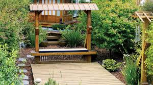 Deck And Patio Ideas For Small Backyards Great Deck Ideas Sunset