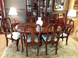 Cherry Dining Room by Kaboodle Home Gallery Upscale Furniture Consignment Shop In