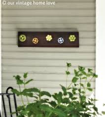 our vintage home love back side porch ideas for summer and an
