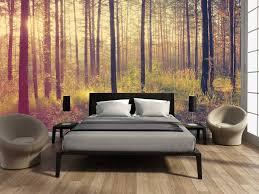 mural forest sunset autumn walldesign56 wall decals murals