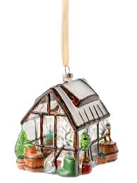 Gifts For Vegetable Gardeners by Glass Greenhouse Christmas Ornament Gardener U0027s Supply
