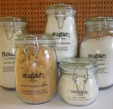 clear glass canisters for kitchen 60 best labels for jars images on free printables
