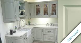 painted kitchen doors replacement painted kitchen doors uk Paint For Kitchen Cabinets Uk
