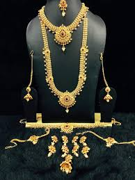 bridal sets for rent bridal jewelry set for rent 4 lingachari jewellers