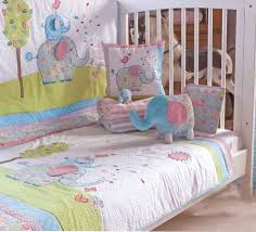 bedding cot bumpers