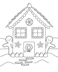 printable gingerbread house colouring page free printable snowflake coloring pages for kids house colors