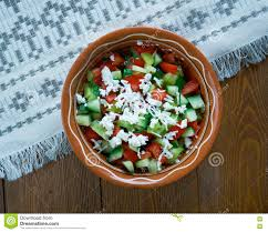 cuisine serbe serbian salad stock photo image of healthy fresh tasty 76655116