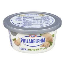 philadelphia light cream cheese spread philadelphia herb and garlic light cream cheese product